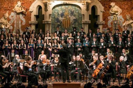 Brillant Cor Jove de l'Orfeó Català, gran protagonista del 'Requiem' de Mozart