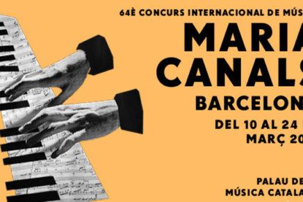 El Concurs Maria Canals de Barcelona 2018 acollirà 93 pianistes de 34 nacionalitats entre el 10 i el 24 de març