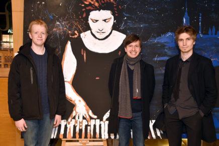 Luke Jones, Alexey Sychev i Evgeny Konnov, a la final del Maria Canals