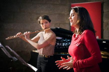 Un gran tribut a Joan Manén en la presentació del disc 'Diálogo, Belvedere, Trois chansons'