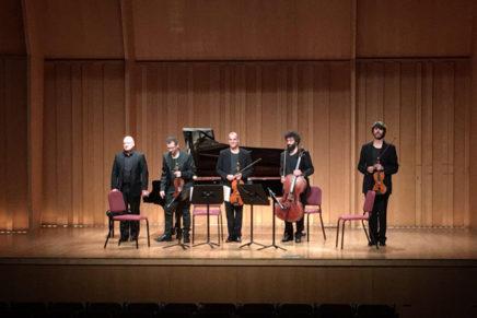 El Quartet Alart estrena els delicats 'Sospiri' de Guinovart